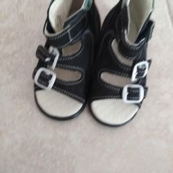 New children's sandals