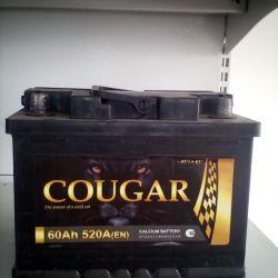 Battery COUGAR 60AH 520A