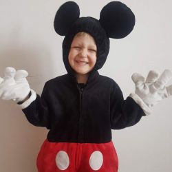 Costumul Mickey Mouse