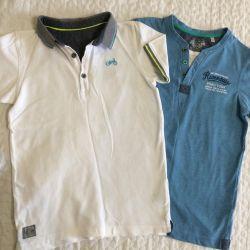 2 pcs. T-shirts 2 pcs. 134-140r. for boy