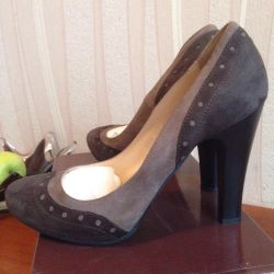 Παπούτσια νέα σουέτ Argo 37,38,39r