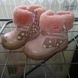 Kışlık botlar.