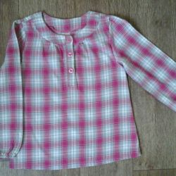 Blouse for girls size 116-122