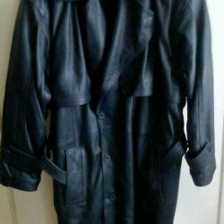 Leather coat. Antares