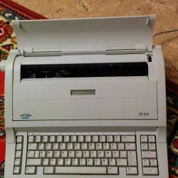 Γραφομηχανή με οθόνη