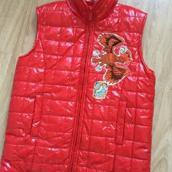 New Custo Growing Vest for Boy