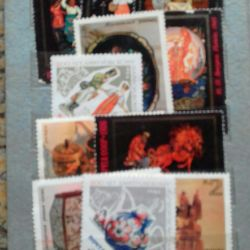 Collection of stamps. Before 1989) of the USSR.