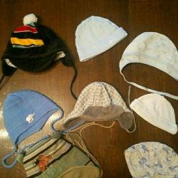 Erkek çocukluk kepleri (3-7 ay)