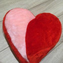 New Pillow plush heart