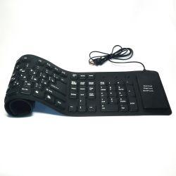 🔥 Esnek Klavye USB 109 Cl, Silikon Eng / Rus