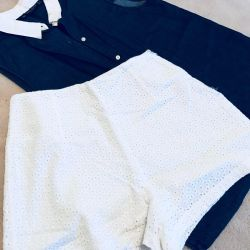 Shorts + ZARA shirt 🤗