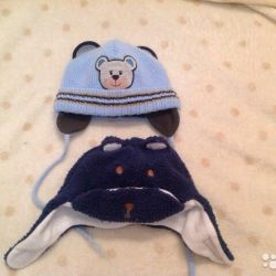 Hats for boy + gift