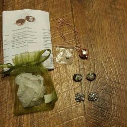 Earrings, Aroma Pendant