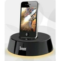 Docking station + speaker for iPad and iPhone4