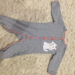 Jumpsuit slip on a girl 3-6 months