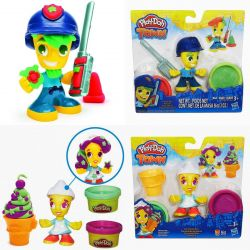 New Play-Doh City, Police Officer, Iceman