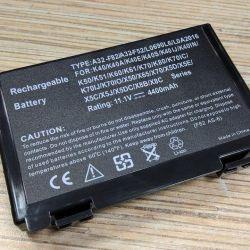 New laptop battery for ASUS K50, K40, K60
