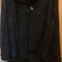 New mink fur coat