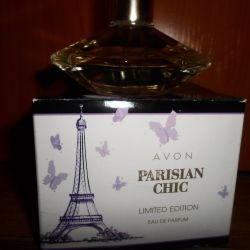 Perfumery Avon Parisian Chic water