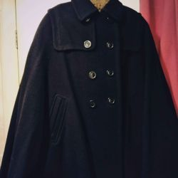 Cape coat + long gloves as a gift