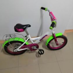 Bicycle for children, from 3 - 7 years
