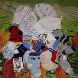 summer hats and socks
