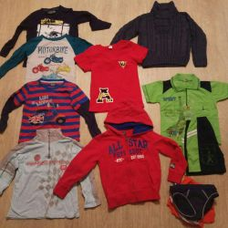 Clothing for boy size 104