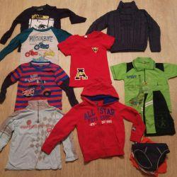 Ρούχα μεγέθους για παιδιά 104
