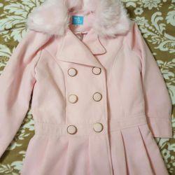 Пальто двубортное новое