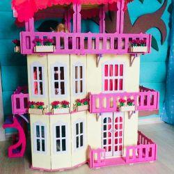 НОВЫЙ Дом для Барби с лифтом
