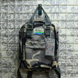 Compact backpack military