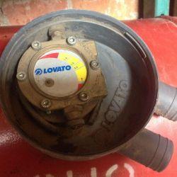 Automotive gas installation