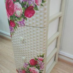 Dresser plastic Buchet 4 secțiuni panouri
