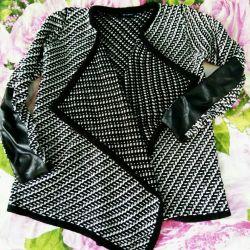 Stylish knitted cardigan