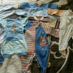 Пакет детской одежды. Р.74