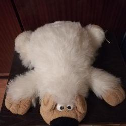 Toy polar bear