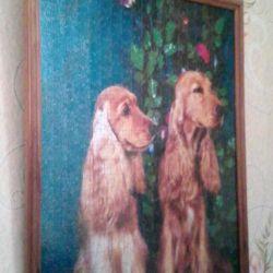 Картина из пазлов