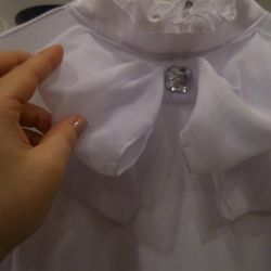 Blouse is for children. Height 140