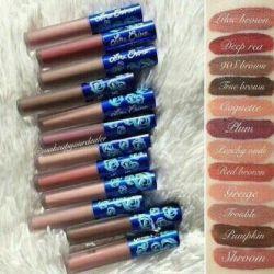 Απομάκρυνση των καλλυντικών Matte lip gloss