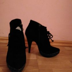 Ankle boots. Autumn. 38