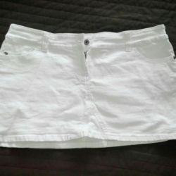 Jeans. Skirt
