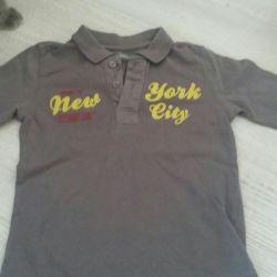 Кофточки футболки детские на мальчика