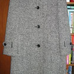 Stylish light overcoat