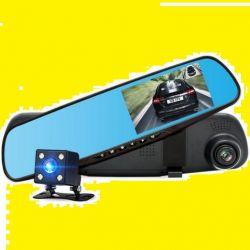 Видеорегистратор зеркало + камера заднего вида