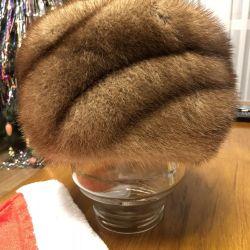 New Women's mink hat