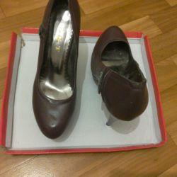 Туфли женские,бордо,39 размер