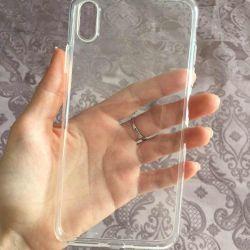 İPhone XS Max için Şeffaf Kılıf