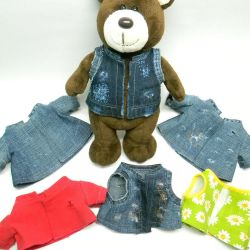 Clothes for bears, toys, dolls. Handwork.