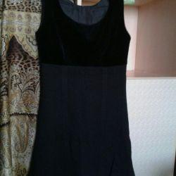 Knitted sundress for short stature
