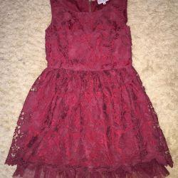 Yeni bir şey elbise Kırmızı Valentino Durumu